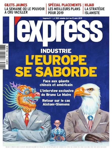 L'Express - Mars 2019 - L'Europe se saborde
