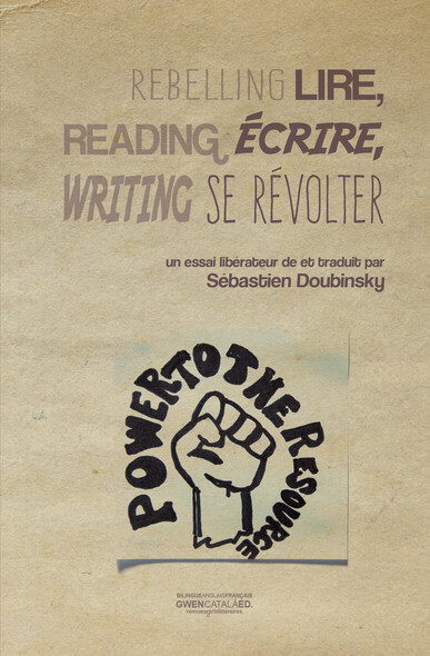 Lire, écrire, se révolter - Reading, writing, rebelling