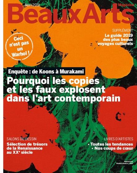 Beaux Arts Magazine - Mars 2019
