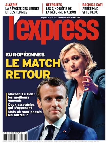 L'Express - Mars 2019 - Le Match Retour