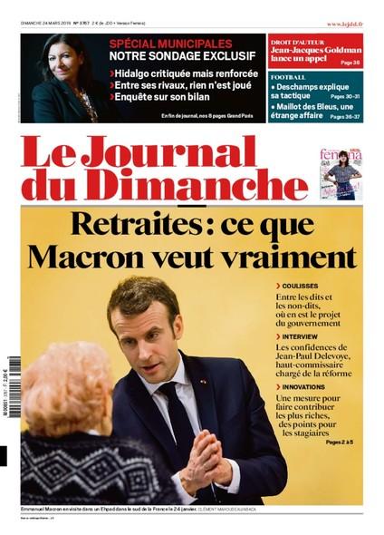 Journal du dimanche - 24 mars 2019