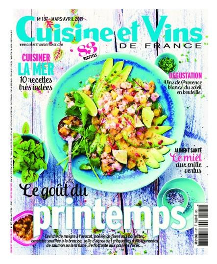 Cuisine & Vins - Mars/Avril 2019