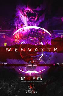 MENVATTS Héritage maudit | Fortin, Mathieu