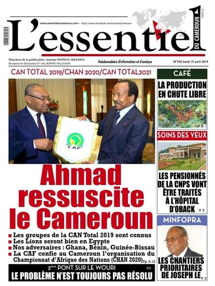 L'essentiel du Cameroun numéro 242