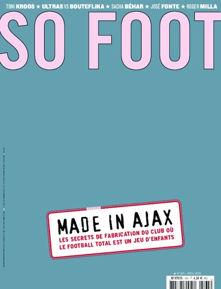 So Foot - 4 Avril 2019 - N°155