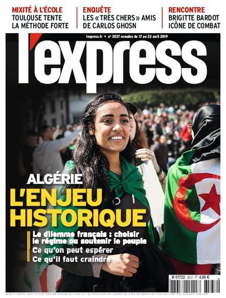 L'Express - Avril 2019 - L'Algérie, enjeu historique