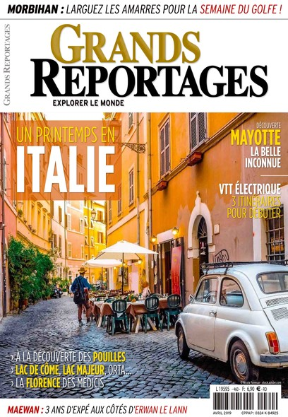 Grands reportages - Avril 2019