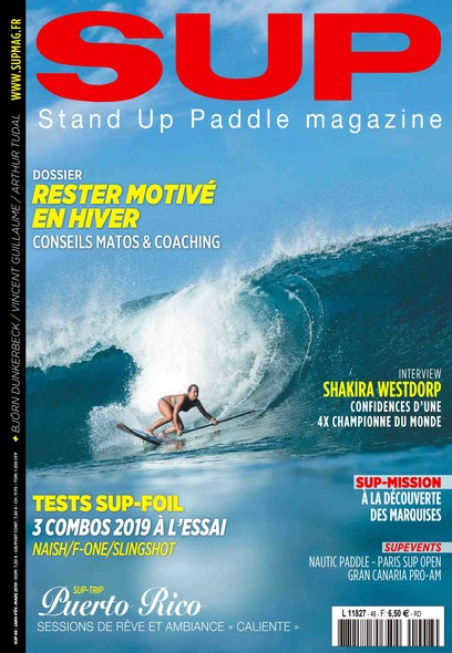 Stand Up Paddle - Janvier/Février/Mars 2019