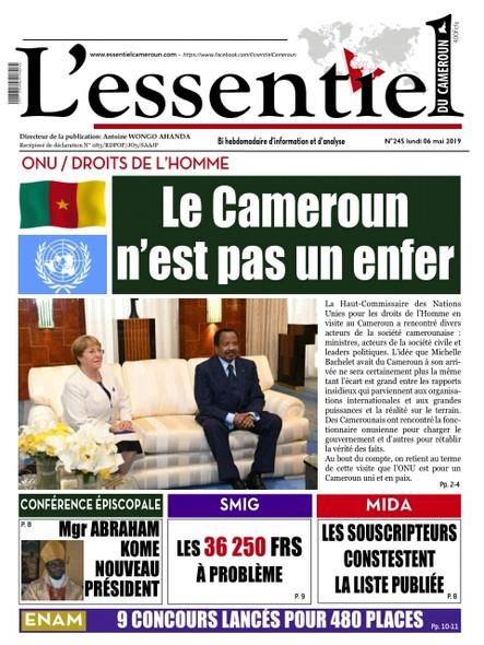 L'essentiel du Cameroun numéro 245