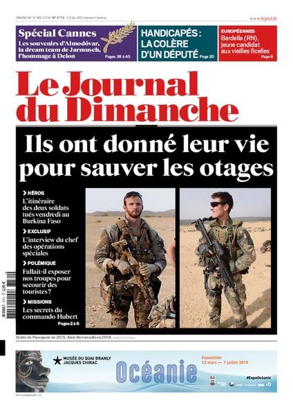 Journal du dimanche - 12 mai 2019