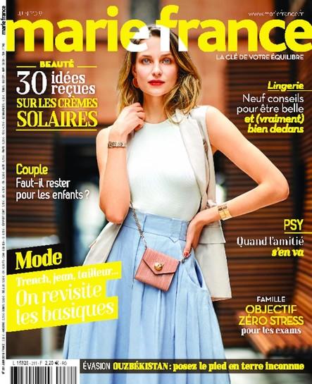 Marie France - Mai 2019