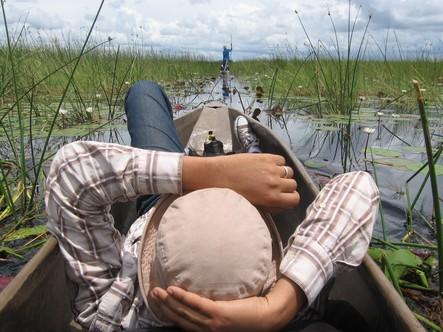 SAFARI : Delta de l'Okavango