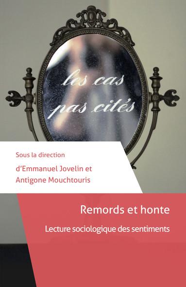 Remords et honte : Lecture sociologique des sentiments
