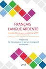 Le français pour et par un enseignant performant : Actes du XIVe congrès mondial de la FIPF, volume IX