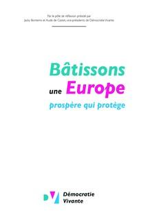 Bâtissons une Europe prospère qui protège   Vivante, Démocratie