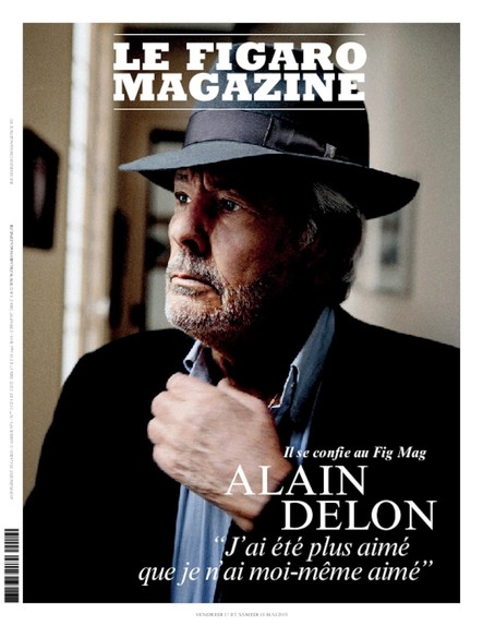 Figaro Magazine - Alain Delon