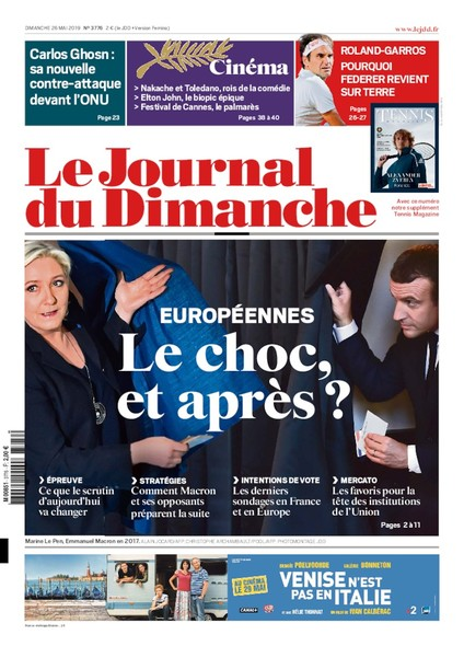 Journal du dimanche - 26 mai 2019