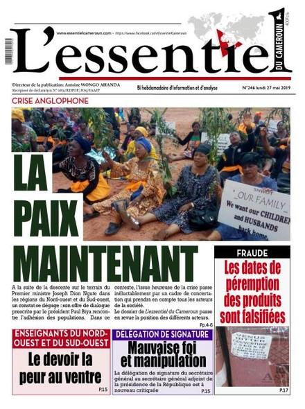 L'essentiel du Cameroun numéro 246