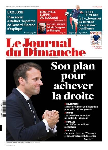 Journal du dimanche - 2 juin 2019