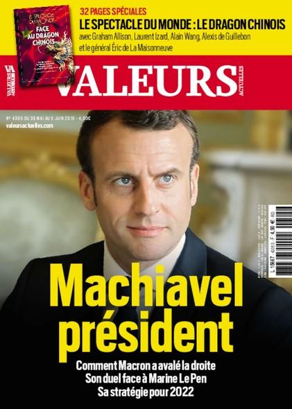 Valeurs Actuelles - Mai 2019 - Machiavel Président