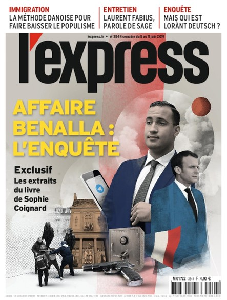 L'Express - Juin 2019 - Affaire Benalla : L'Enquête