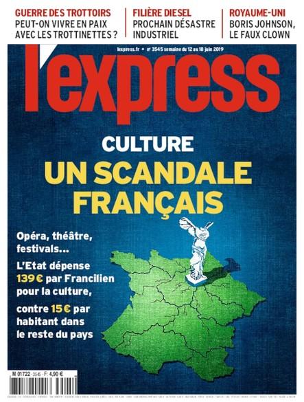 L'Express - juin 2019 - Culture : un Scandale Français