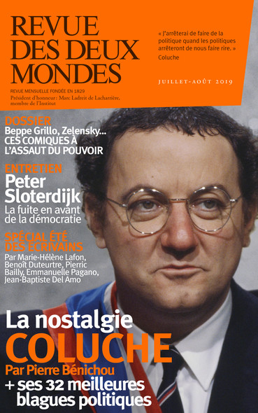 Revue des Deux Mondes juillet-août 2019 : Rire, politique et populisme