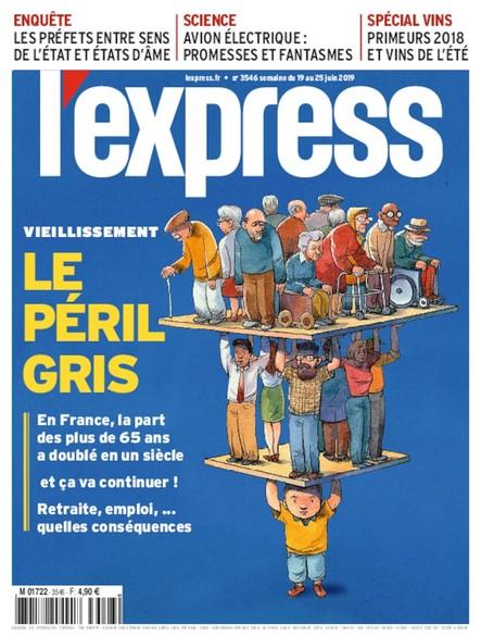 L'Express - Juin 2019 - Le Péril Gris