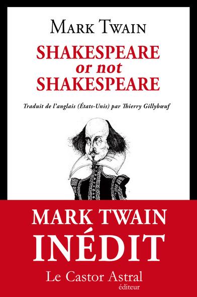 Shakespeare or not Shakespeare