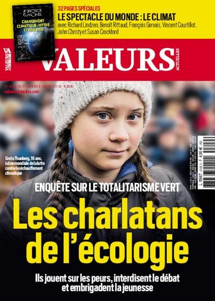 Valeurs Actuelles - Juin 2019 - Les Charlatans de l'Ecologie