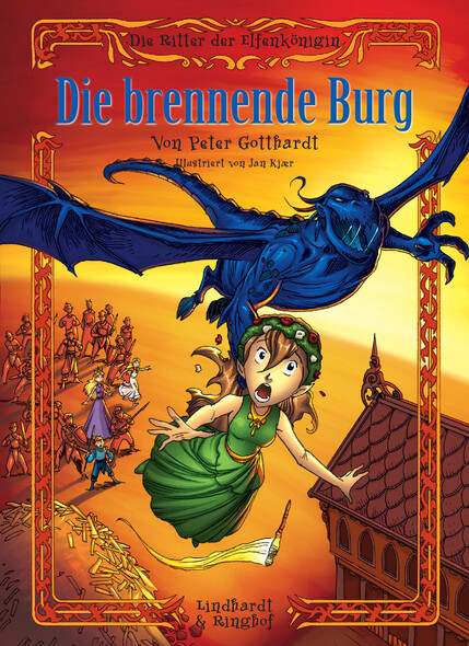 Die Ritter der Elfenkönigin 3: Die brennende Burg