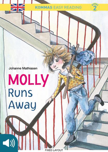 Kommas Easy Reading: Molly Runs Away - niv. 2