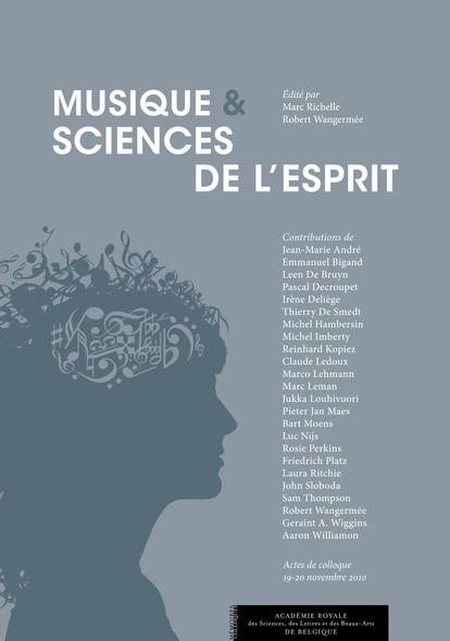 Musique et sciences de l'esprit : Actes de colloque