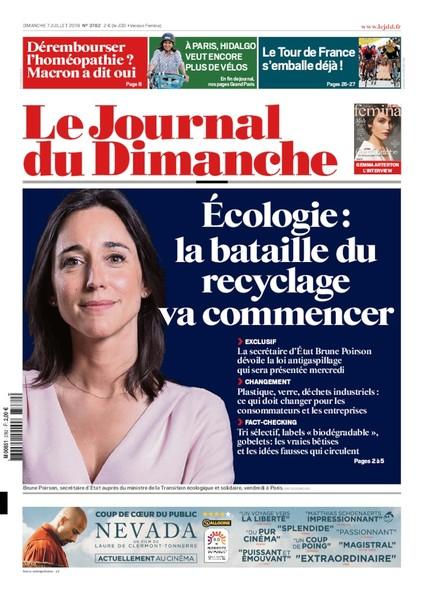 Journal du dimanche - 7 juillet 2019