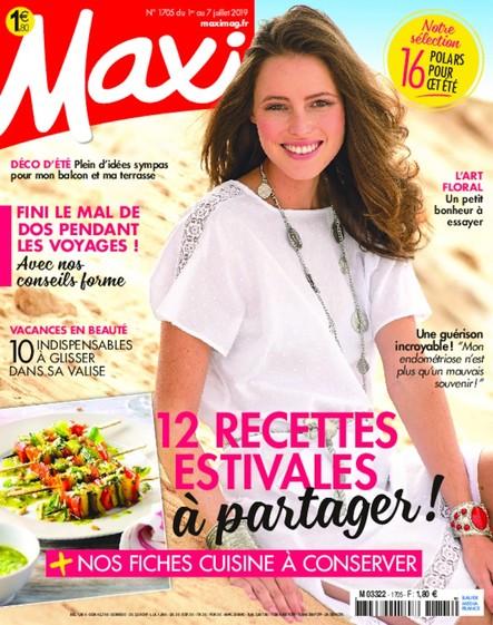 Maxi   Juillet   N°1705