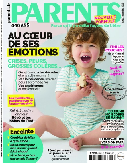 Parents N°589 - Août/Septembre 2019