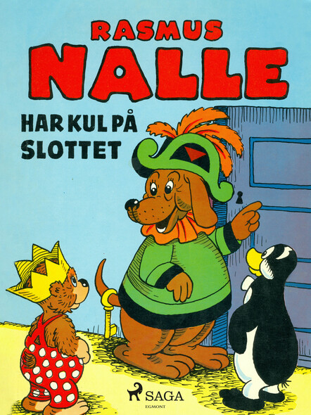Rasmus Nalle har kul på slottet