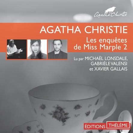 Les enquêtes de Miss Marple 2 : Le Sanctuaire d'Astarté - L'herbe de la mort - La demoiselle de compagnie