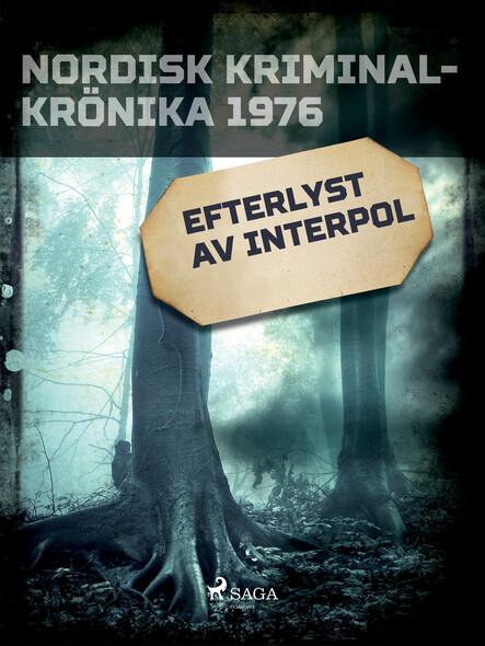 Efterlyst av Interpol