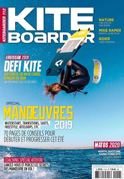 Kite Boarder - Août/Septembre 2019