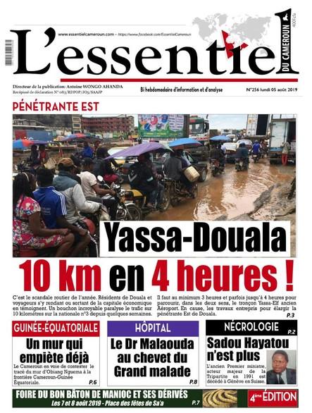 L'essentiel du Cameroun numéro 256