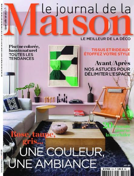 Journal de la maison - Août 2019