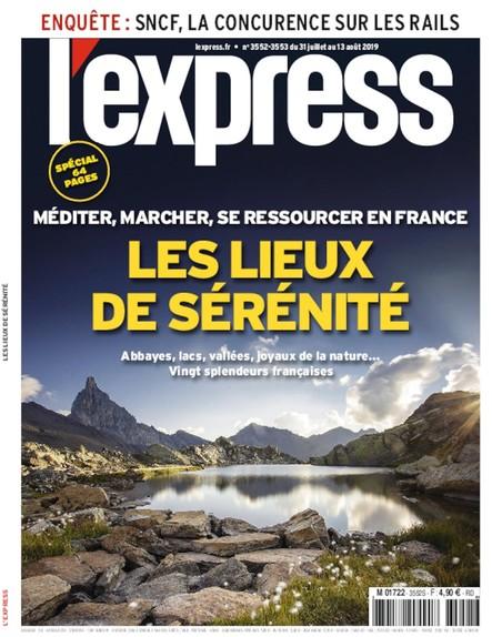 L'Express - Juillet 2019 - Les Lieux de Sérénité