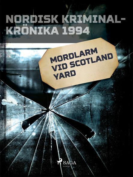 Mordlarm vid Scotland Yard