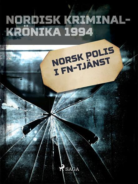 Norsk polis i FN-tjänst