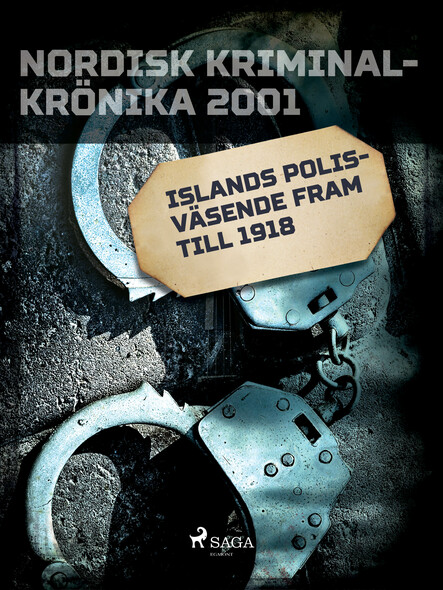 Islands polisväsende fram till 1918