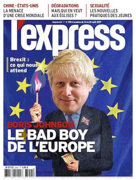 L'Express - Août 2019 - Boris Johnson