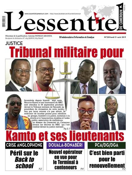 L'essentiel du Cameroun numéro 258