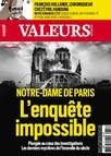 Valeurs Actuelles - Août 2019 - Notre-Dame de Paris : L'Enquête Impossible