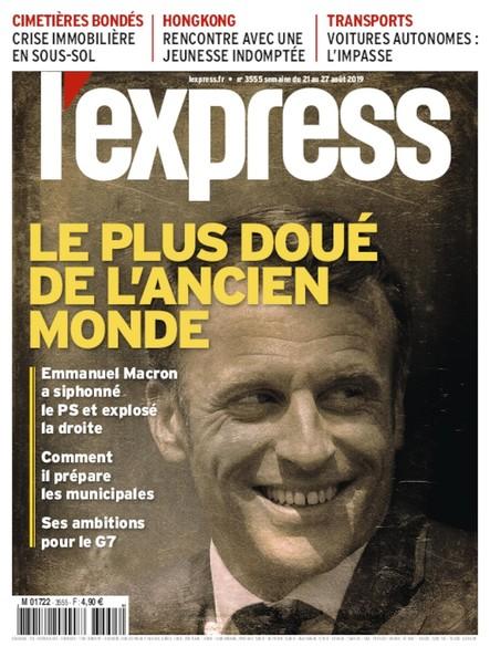 L'Express - Août 2019 - le Plus Doué de l'Ancien Monde